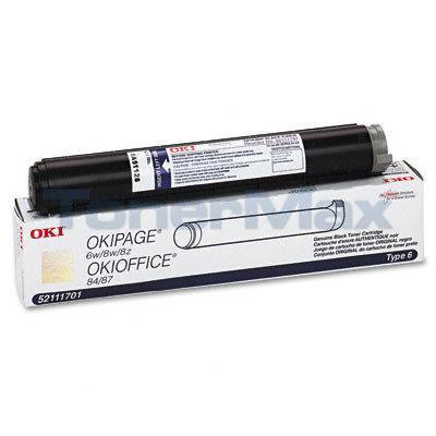 OKIDATA OKIOFFICE 84 TYPE 6 TONER CARTRIDGE BLACK